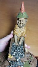 Tom Clark Gnome HITCH Edition #43 1987 Retired COA Signed! Bird Feeder