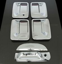 99-07 Ford Super Duty Chrome 4 Door Handle w/o PSG Keyhole + Tailgate Cover