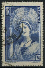 France 1938-9 SG#595, 1f75 Champagne Girl Used #A85446