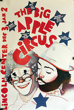 THE BIG APPLE CIRCUS LINCOLN CENTER, NYC 1982 POSTER-PAUL DAVIS