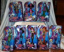Monster High Great Scarrier Reef Doll Set of 8 Clawdeen Draculaura Toralei