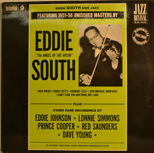 """EDDIE SOUTH - THE ANGEL OF THE VIOLIN + OTHER RARE RECORDINGS 12 """" LP (U 910)"""
