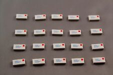 Lot of 20 Lego letter mail pieces parts flat bricks 1681