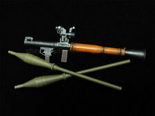 "1/6 scale Anti-tank Bazooka RPG-7 WWC Weapon wood grain Fit 12"" Action Figure"
