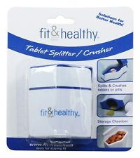 Fit & Fresh - Fit & Healthy Tablet Pill Splitter And Crusher - formerly by
