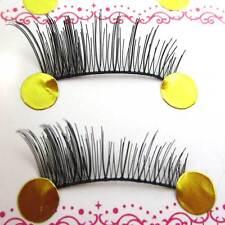 HOT SALE! SG20 10 pairs handmade LOCAL DENSE False Eyelashes HALF eye lashes