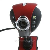 50M 6 LED PC Camera HD Webcam Camera Built-in micro for Computer PC Laptop USB H