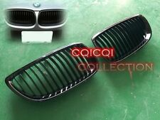 Glossy Black BMW 06~10 E92 E93 3-series coupe convertible front grills grille ◎
