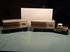 Vintage Allstate Express Marx Sears Roebuck Tandem Semi Tractor Trailer