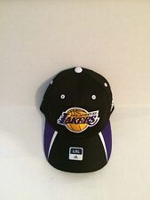 Los Angeles Lakers Adidas Stretch Fit hat L/XL Black
