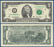 USA 2 Dollars 2003A UNC (L San Francisco)  P. 516 b