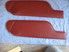 1973-76  Impala conv new sun visors red