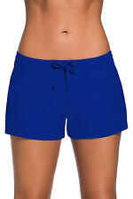 Royal Blue Women Swim Board shorts Swimsuit Bottoms Size UK 14-16