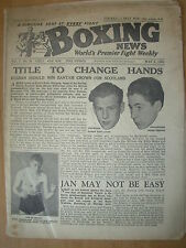 VINTAGE BOXING NEWS MAGAZINE MAY 2nd 1951
