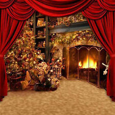 Christmas vinyl photography Background Backdrop studio photo props 10X10FT DS130