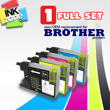Full Set of non-OEM Ink for BROTHER MFC-J430W MFC-J825DW MFC-J6510DW MFC-J6710DW