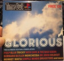 GLORIOUS ~ THE ULTIMATE FESTIVAL COMPILATION - 15 TRACK TIME OUT PROMO MUSIC CD