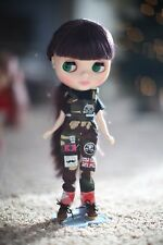 T-shirt w/ camouflage pants for Blythe Neo Doll Clothes 2 piece set