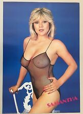 SAMANTHA FOX,VERY SEXY!!! RARE 1988 ORIGINAL  POSTER