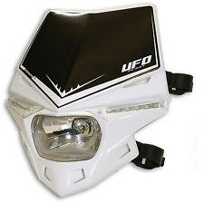 Ufo Lampenmaske Scheinwerfer Stealth universal e-geprüft weiß