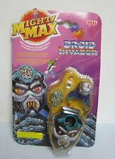 Ideal Mighty Max Horror Heads DROID INVADER Playset Figure Toy