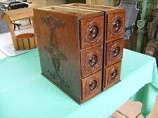 """ANTIQUE""""SINGER""""SEWING MACHINE DRAWERS in EXCEPTIONAL CONDITION for AGE"""