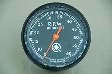 Vintage Go Power Dynamometer mechanical tachometer, 6000 rpm