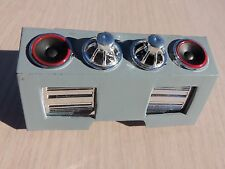 JADA 1/24 SCALE SPEAKERS AND AMPS FOR DUB CITY VEHICLES PAINTED