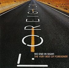 FOREIGNER NO END IN SIGHT VERY BEST 2 CD NEW
