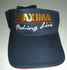 """Nice MAXIMA Fishing Line """"The Best By Test""""  Visor Cap Hat"""