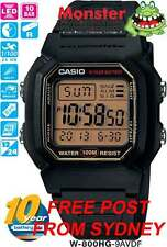 AUSTRALIAN SELLER CASIO WATCHES W-800HG-9A W800 W800HG 100M 12-MONTH WARRANTY