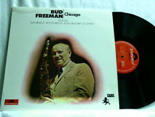 BUD FREEMAN Chicago Roy Eldridge Ray Bryant Bob Haggart Elmer Snowden LP