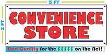 CONVENIENCE STORE Banner Sign Vintage for Neighborhood Gas Station