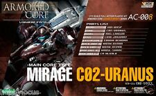 Kotobukiya Armored Core AC008 Main Core Type Mirage C02-Uranus Scale 1/72
