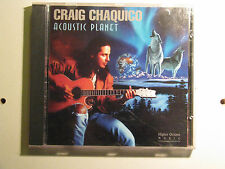 Acoustic Planet by Craig Chaquico (CD, Sep-1994, Higher Octave) Guitar New Age