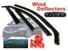 VW PASSAT 3C2 2005-2014  SALOON   Wind deflectors 4.pcs set.   HEKO (31154)
