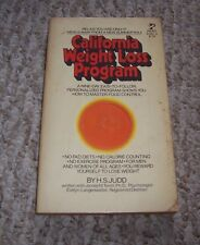 1979 California Weight Loss Program No Fad Diets Calorie Counting Excercise
