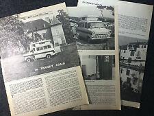 Ford Transit Camper Caravan feature 1968