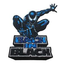 "Spider-Man ""Back In Black"" Venom Suit Marvel Superhero Iron On Applique Patch"