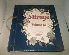 HUGE 277 PAGE Vtg MIRAGE Vol. IX WALLPAPER SAMPLE BOOK  Victorian style