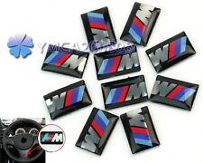 10x 3D Nuevo Pegatina Auto Adhesivo para BMW M3 M5 M6 Decoración de Coche Logo