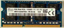 Hynix 8GB HMT41GS6BFR8A-PB 12800S 1600MHz PC3L DDR3 LAPTOP RAM 204-pin 1.35V