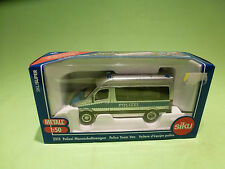 SIKU 2313 MERCEDES BENZ POLICE TEAM - POLIZEI - 1:50 - GOOD CONDITION IN BOX