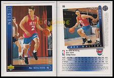 NBA UPPER DECK 1993/94 - Rex Walters # 95 - Nets - Ita/Eng - GOOD