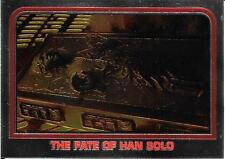 1999 Topps Star Wars Chrome Archives #52 The Fate Of Han Solo   Carbonite