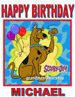 Personalized Custom Scooby Doo Birthday T Shirt