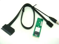 Sintech SATA HDD to M.2(NGFF) B key Socket adapter card +USB power SATA cable