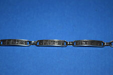 Silver Link Bracelet from Egypt: EGYPTIAN SYMBOLS