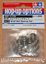 Tamiya 54179 M-05 Ball Bearing Set (M05/M05Ra/M-05Ra/Mini/Swift), NIP