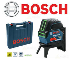 BOSCH 15m GCL-2-15G Self Levelling GREEN Cross Line Laser & Plumb Level + Case